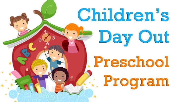 Children's Day Out Preschool Program   Knox Presbyterian