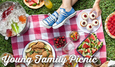 Young Family Picnic