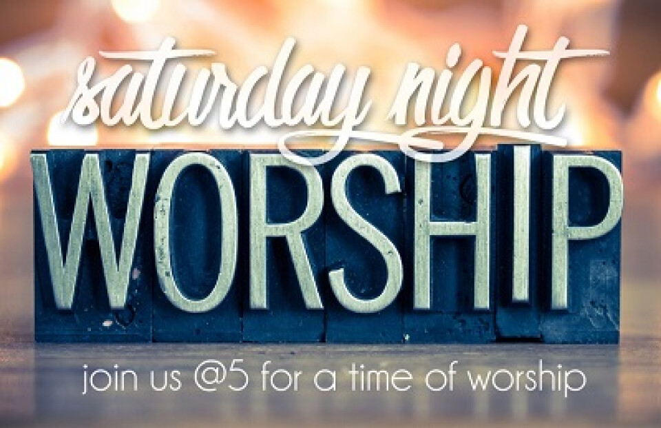 Saturday Worship @5