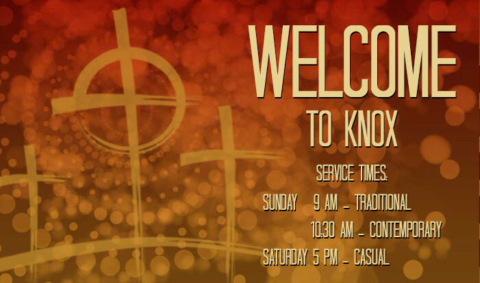 welcome service times