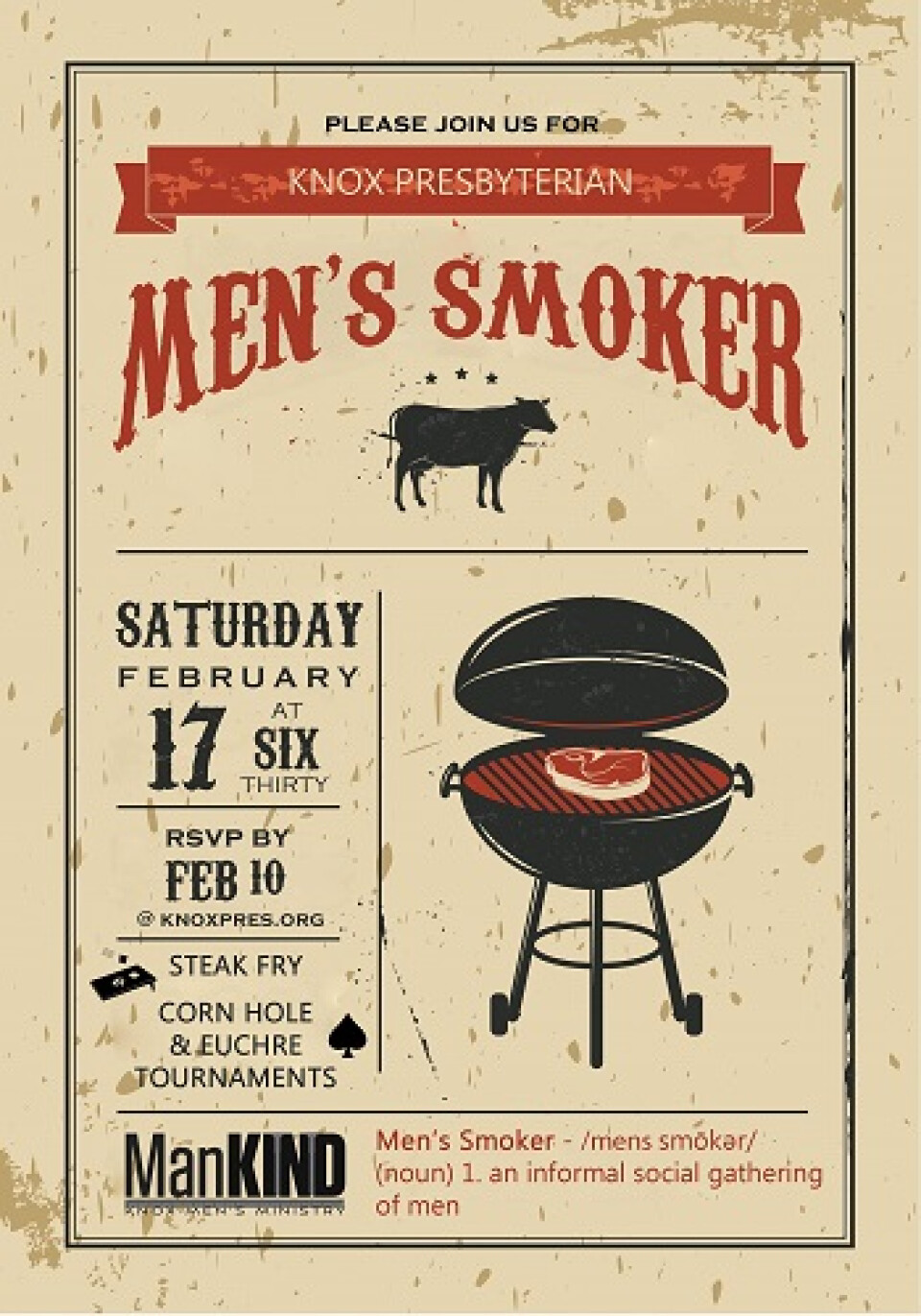 ManKIND - Smoker Event