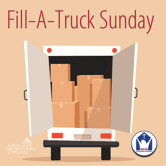 Fill-A-Truck Sunday