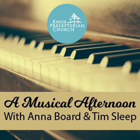 Recording of Anna Board & Tim Sleep Musical Afternoon